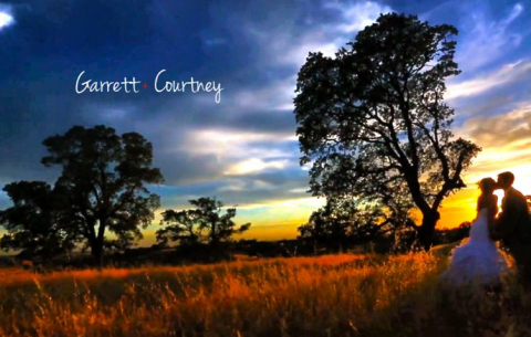 Courtney+Garrett wedding day Highlight