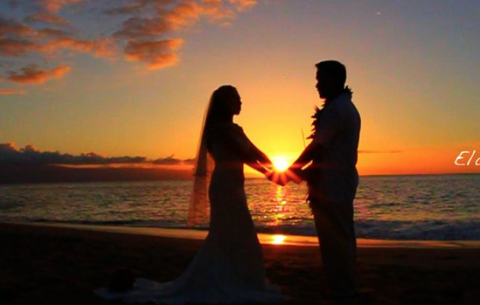 Destination wedding of Elaine & Dennis @ Royal Lahaina Maui Hawaii
