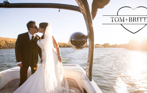Tom + Brittany's Wedding Day Highlight