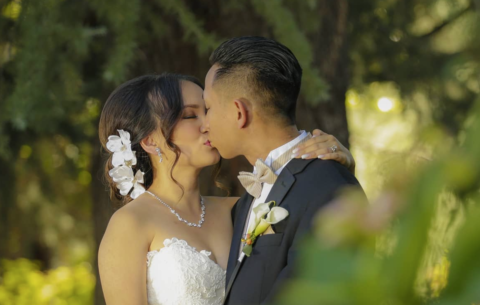 Kenny + Tien Wedding Day Highlight Wine+Roses in Lodi CA